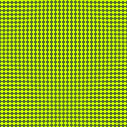 45/135 degree angle diagonal checkered chequered squares checker pattern checkers background, 12 pixel squares size, , Dark Olive Green and Electric Lime checkers chequered checkered squares seamless tileable