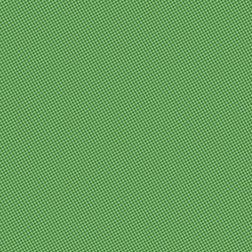 73/163 degree angle diagonal checkered chequered squares checker pattern checkers background, 7 pixel square size, , Dark Sea Green and Bilbao checkers chequered checkered squares seamless tileable