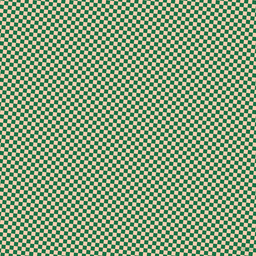 84/174 degree angle diagonal checkered chequered squares checker pattern checkers background, 8 pixel squares size, , Dark Spring Green and Apricot checkers chequered checkered squares seamless tileable