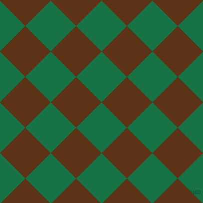 45/135 degree angle diagonal checkered chequered squares checker pattern checkers background, 72 pixel squares size, , Dark Spring Green and Baker