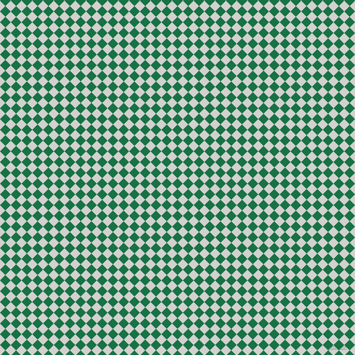 45/135 degree angle diagonal checkered chequered squares checker pattern checkers background, 15 pixel square size, , Dark Spring Green and Concrete checkers chequered checkered squares seamless tileable