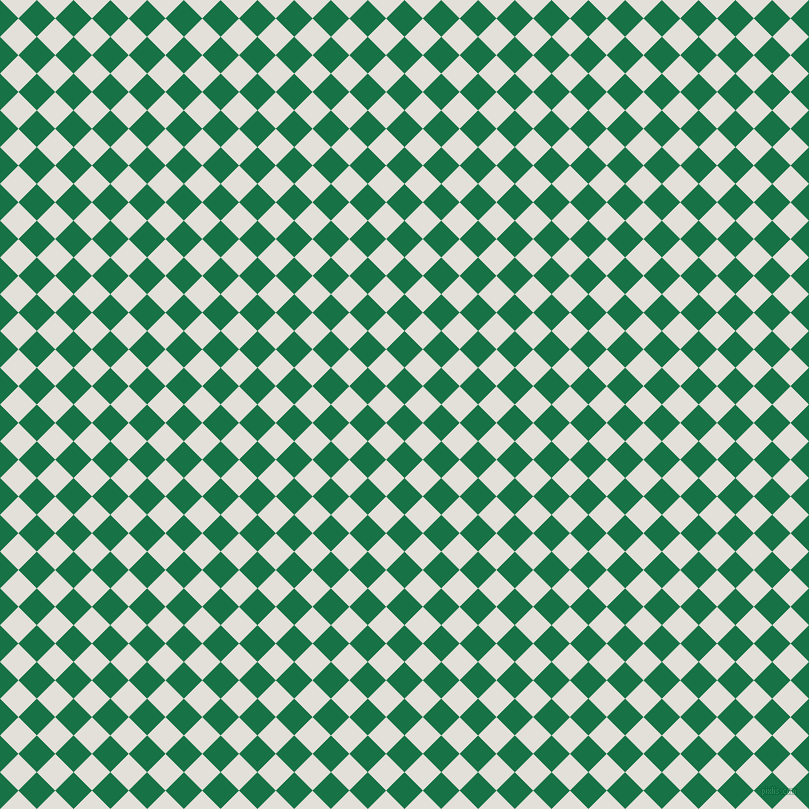 45/135 degree angle diagonal checkered chequered squares checker pattern checkers background, 26 pixel square size, , Dark Spring Green and Vista White checkers chequered checkered squares seamless tileable
