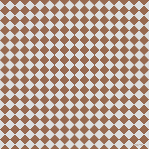 45/135 degree angle diagonal checkered chequered squares checker pattern checkers background, 24 pixel square size, , Dark Tan and Athens Grey checkers chequered checkered squares seamless tileable