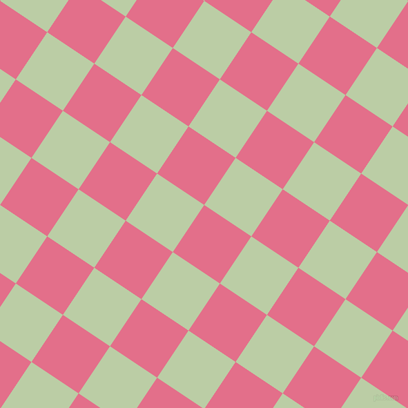 56/146 degree angle diagonal checkered chequered squares checker pattern checkers background, 82 pixel squares size, , Deep Blush and Pixie Green checkers chequered checkered squares seamless tileable