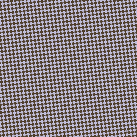 51/141 degree angle diagonal checkered chequered squares checker pattern checkers background, 9 pixel squares size, , Deep Bronze and Lavender Grey checkers chequered checkered squares seamless tileable