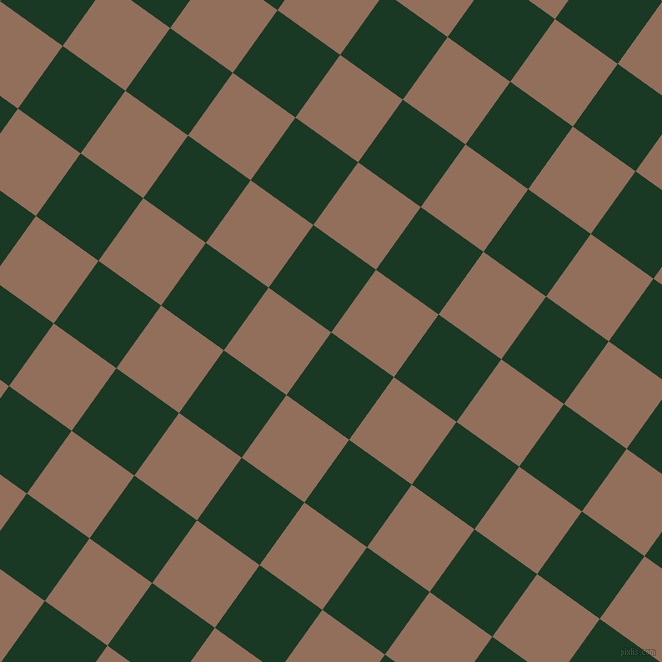 54/144 degree angle diagonal checkered chequered squares checker pattern checkers background, 77 pixel square size, , Deep Fir and Beaver checkers chequered checkered squares seamless tileable
