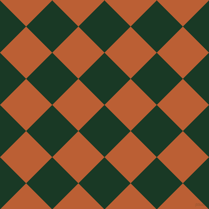 45/135 degree angle diagonal checkered chequered squares checker pattern checkers background, 128 pixel squares size, , Deep Fir and Smoke Tree checkers chequered checkered squares seamless tileable