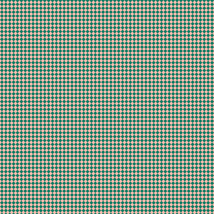 45/135 degree angle diagonal checkered chequered squares checker pattern checkers background, 9 pixel squares size, , Deep Sea and Melon checkers chequered checkered squares seamless tileable