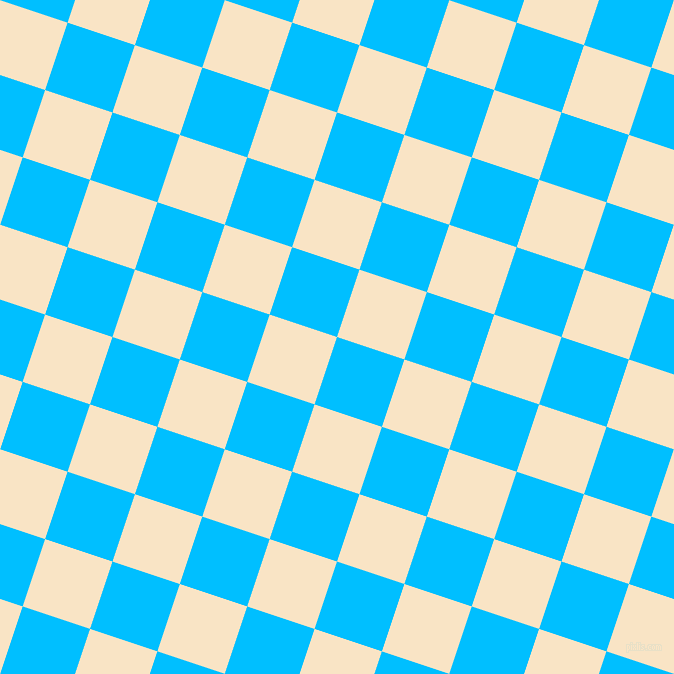72/162 degree angle diagonal checkered chequered squares checker pattern checkers background, 71 pixel squares size, Deep Sky Blue and Egg Sour checkers chequered checkered squares seamless tileable