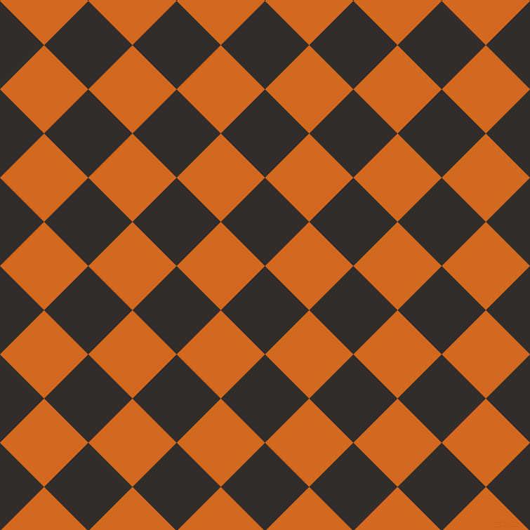 45/135 degree angle diagonal checkered chequered squares checker pattern checkers background, 89 pixel squares size, , Diesel and Chocolate checkers chequered checkered squares seamless tileable