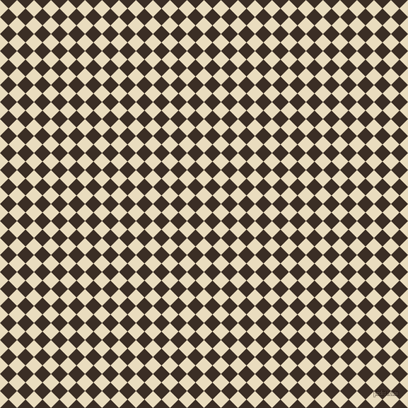45/135 degree angle diagonal checkered chequered squares checker pattern checkers background, 17 pixel squares size, , Double Pearl Lusta and Sambuca checkers chequered checkered squares seamless tileable