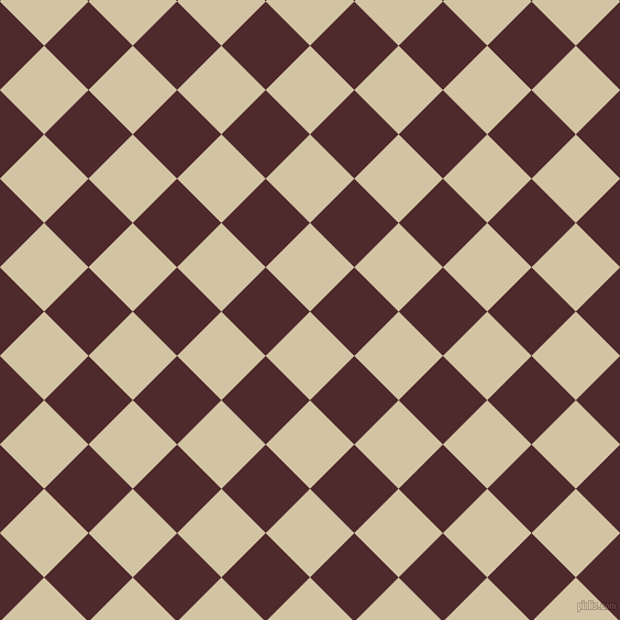 45/135 degree angle diagonal checkered chequered squares checker pattern checkers background, 57 pixel squares size, , Double Spanish White and Heath checkers chequered checkered squares seamless tileable