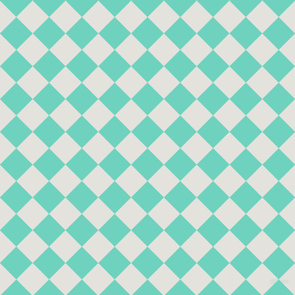 45/135 degree angle diagonal checkered chequered squares checker pattern checkers background, 46 pixel square size, , Downy and Wan White checkers chequered checkered squares seamless tileable