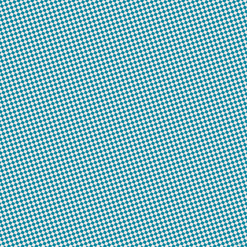 63/153 degree angle diagonal checkered chequered squares checker pattern checkers background, 10 pixel squares size, , Eastern Blue and Whisper checkers chequered checkered squares seamless tileable