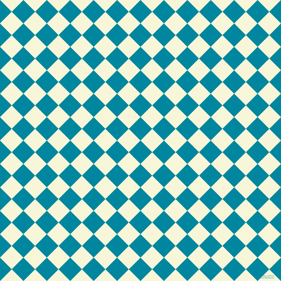 45/135 degree angle diagonal checkered chequered squares checker pattern checkers background, 34 pixel squares size, , Eastern Blue and White Nectar checkers chequered checkered squares seamless tileable