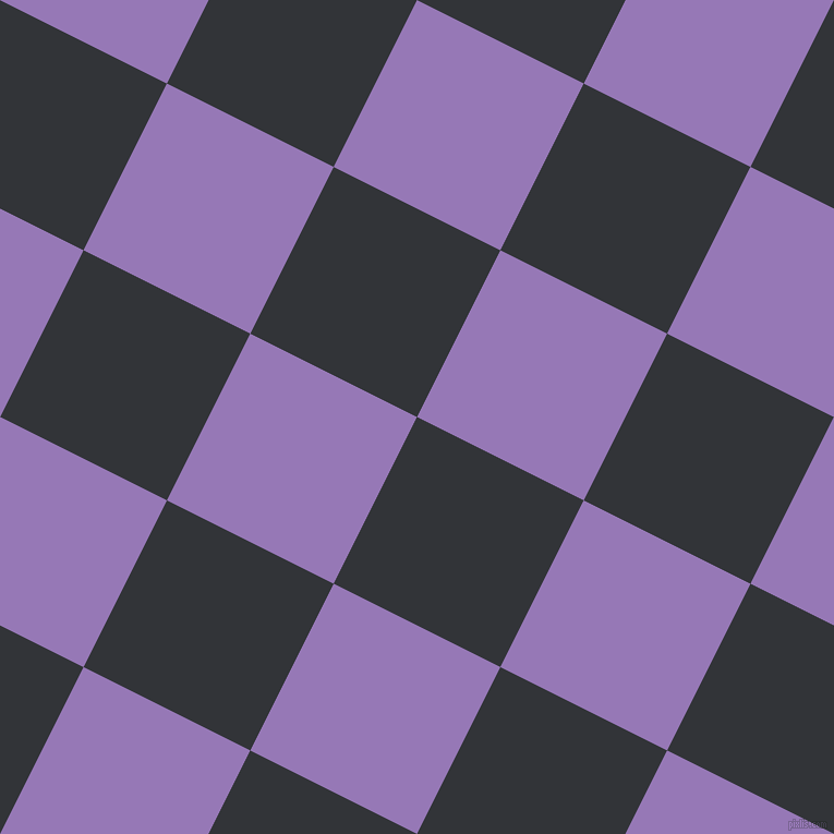 63/153 degree angle diagonal checkered chequered squares checker pattern checkers background, 171 pixel square size, , Ebony Clay and Purple Mountain
