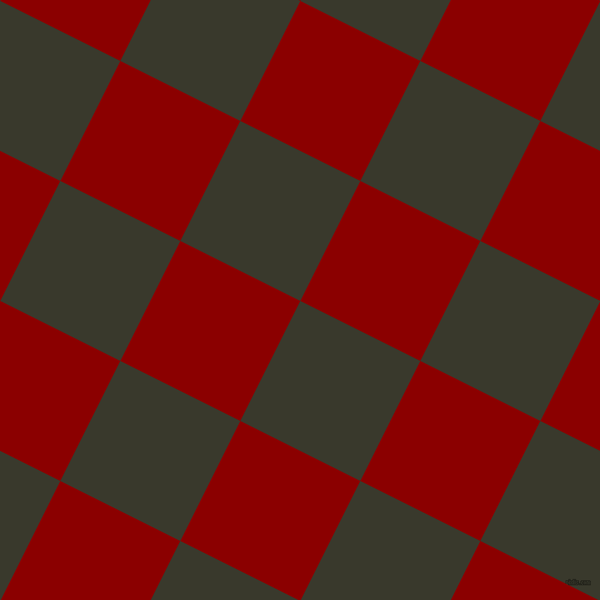 63/153 degree angle diagonal checkered chequered squares checker pattern checkers background, 191 pixel squares size, , El Paso and Dark Red checkers chequered checkered squares seamless tileable