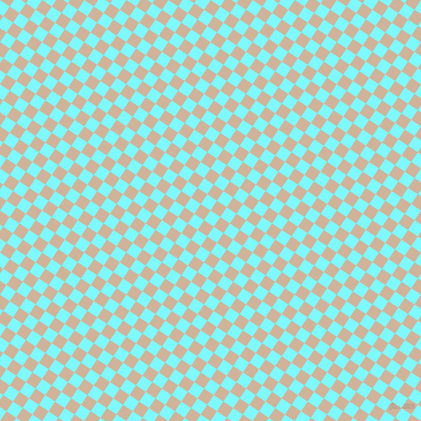 56/146 degree angle diagonal checkered chequered squares checker pattern checkers background, 17 pixel squares size, , Electric Blue and Cashmere checkers chequered checkered squares seamless tileable