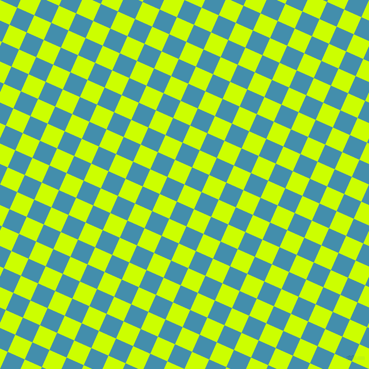 66/156 degree angle diagonal checkered chequered squares checker pattern checkers background, 37 pixel squares size, , Electric Lime and Boston Blue checkers chequered checkered squares seamless tileable