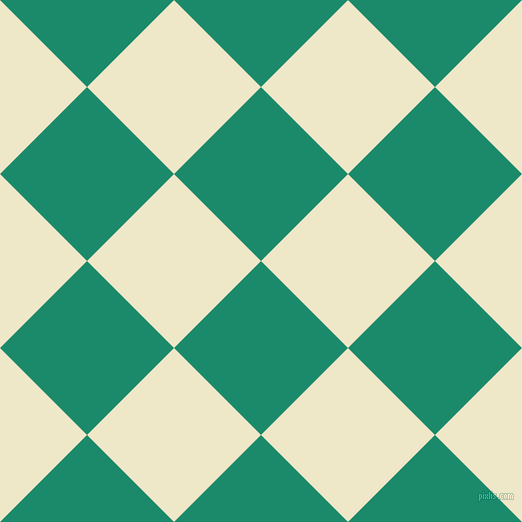 45/135 degree angle diagonal checkered chequered squares checker pattern checkers background, 123 pixel square size, , Elf Green and Scotch Mist checkers chequered checkered squares seamless tileable