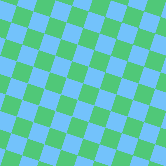 72/162 degree angle diagonal checkered chequered squares checker pattern checkers background, 60 pixel squares size, , Emerald and Maya Blue checkers chequered checkered squares seamless tileable