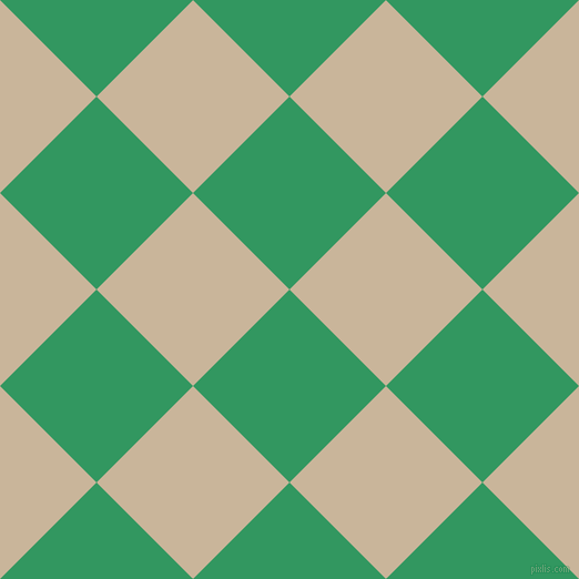 45/135 degree angle diagonal checkered chequered squares checker pattern checkers background, 123 pixel squares size, Eucalyptus and Sour Dough checkers chequered checkered squares seamless tileable