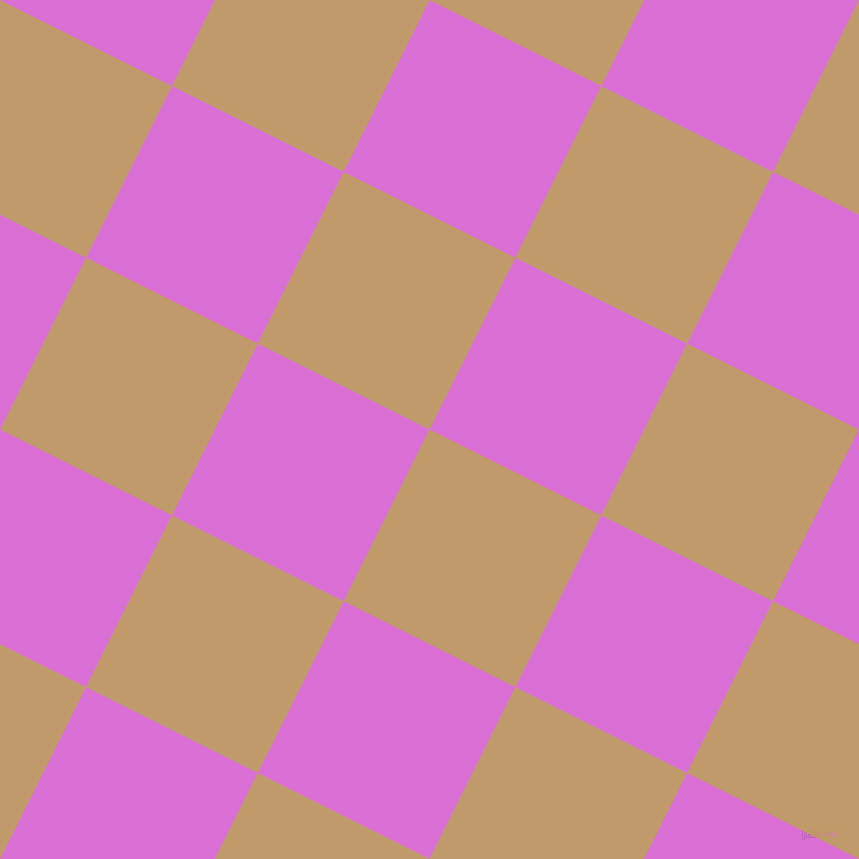 63/153 degree angle diagonal checkered chequered squares checker pattern checkers background, 192 pixel squares size, , Fallow and Orchid checkers chequered checkered squares seamless tileable