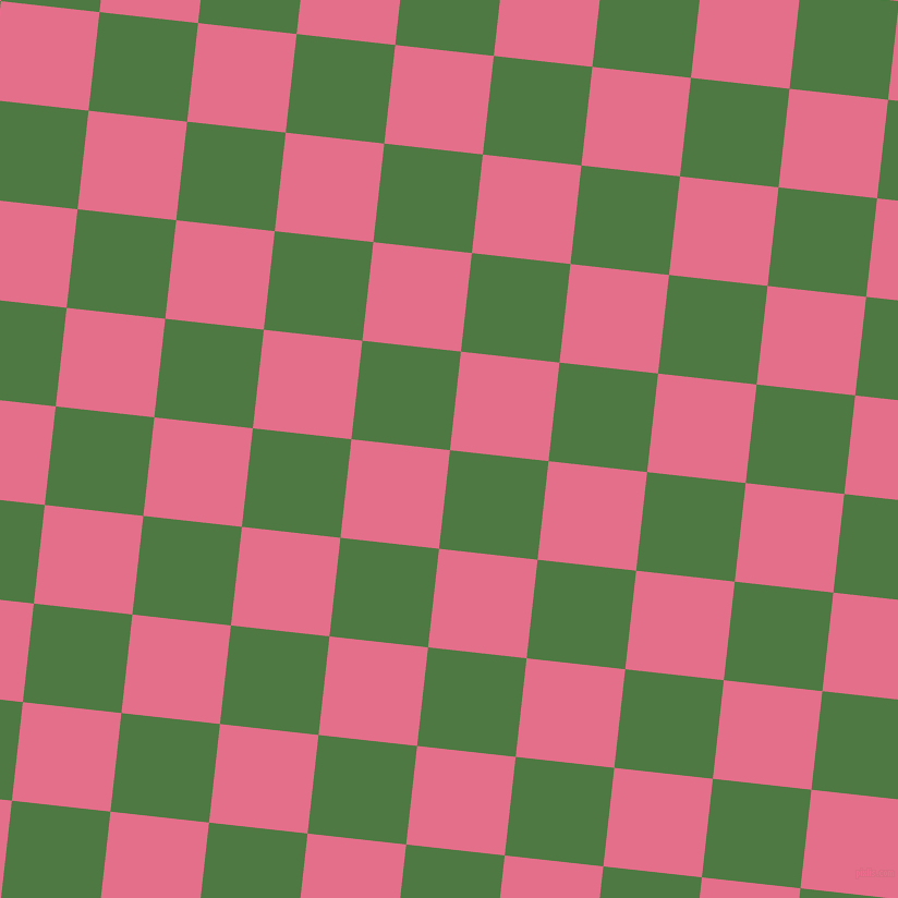 84/174 degree angle diagonal checkered chequered squares checker pattern checkers background, 91 pixel square size, , Fern Green and Deep Blush checkers chequered checkered squares seamless tileable