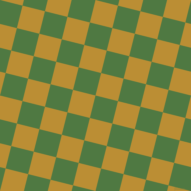 76/166 degree angle diagonal checkered chequered squares checker pattern checkers background, 76 pixel squares size, , Fern Green and Hokey Pokey checkers chequered checkered squares seamless tileable