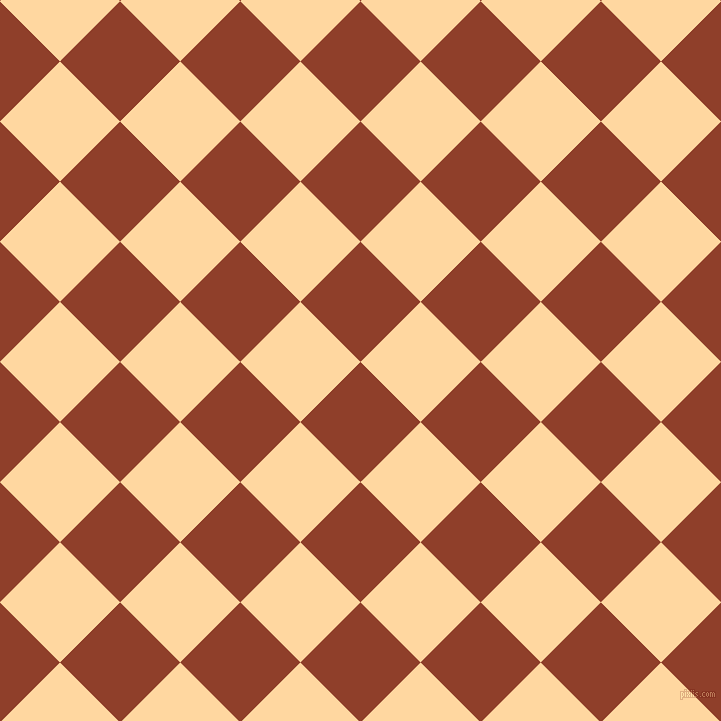 45/135 degree angle diagonal checkered chequered squares checker pattern checkers background, 85 pixel square size, , Fire and Frangipani checkers chequered checkered squares seamless tileable