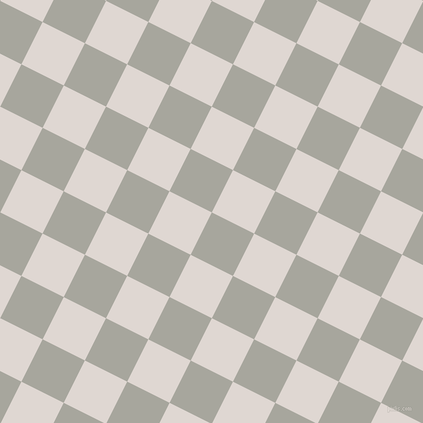 63/153 degree angle diagonal checkered chequered squares checker pattern checkers background, 69 pixel squares size, , Foggy Grey and Bon Jour checkers chequered checkered squares seamless tileable