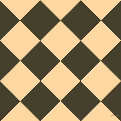 45/135 degree angle diagonal checkered chequered squares checker pattern checkers background, 116 pixel square size, , Frangipani and Woodrush checkers chequered checkered squares seamless tileable