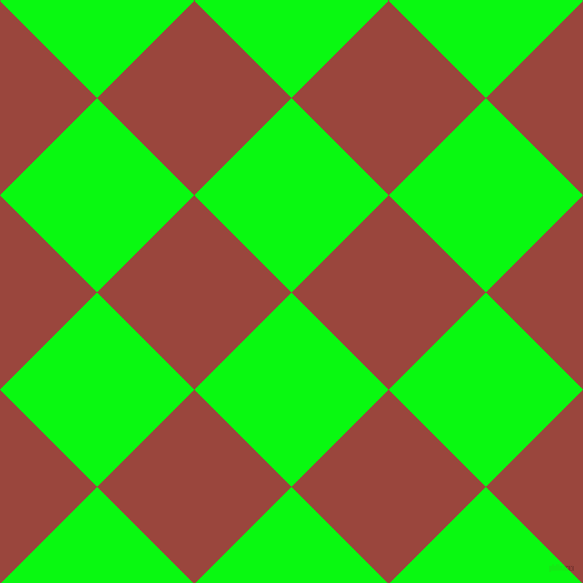 45/135 degree angle diagonal checkered chequered squares checker pattern checkers background, 199 pixel square size, , Free Speech Green and Cognac checkers chequered checkered squares seamless tileable