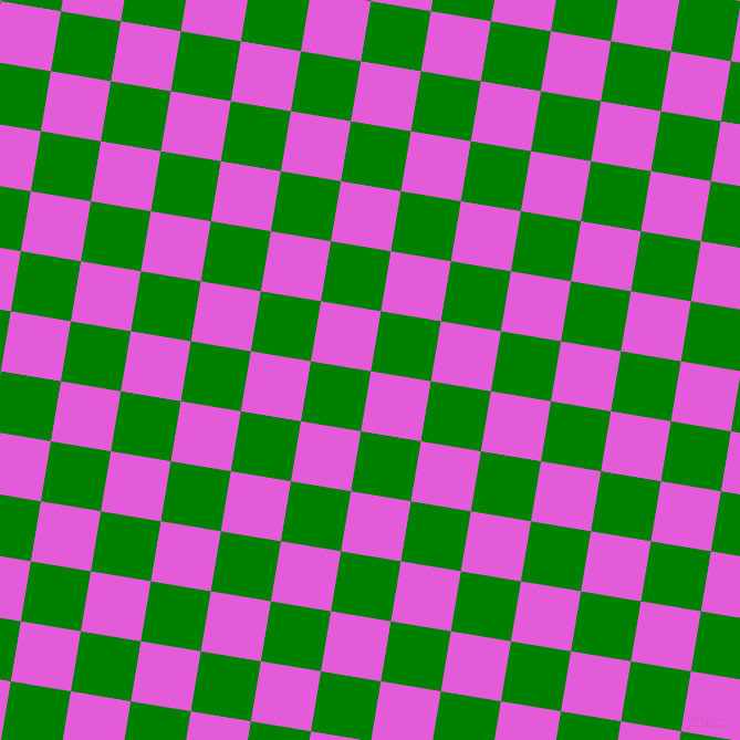 81/171 degree angle diagonal checkered chequered squares checker pattern checkers background, 55 pixel square size, , Free Speech Magenta and Green checkers chequered checkered squares seamless tileable