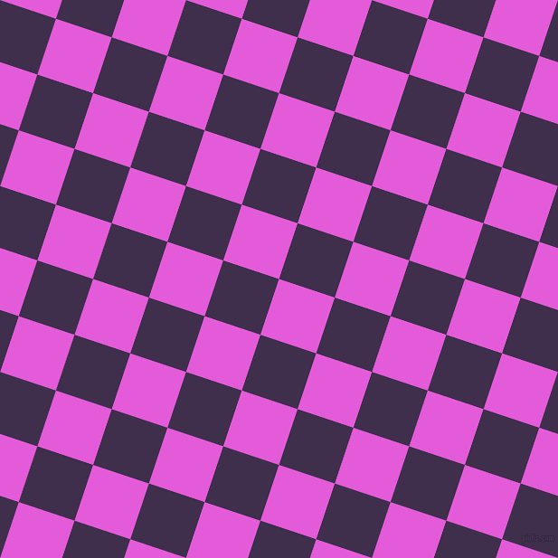 72/162 degree angle diagonal checkered chequered squares checker pattern checkers background, 65 pixel square size, , Free Speech Magenta and Jagger checkers chequered checkered squares seamless tileable