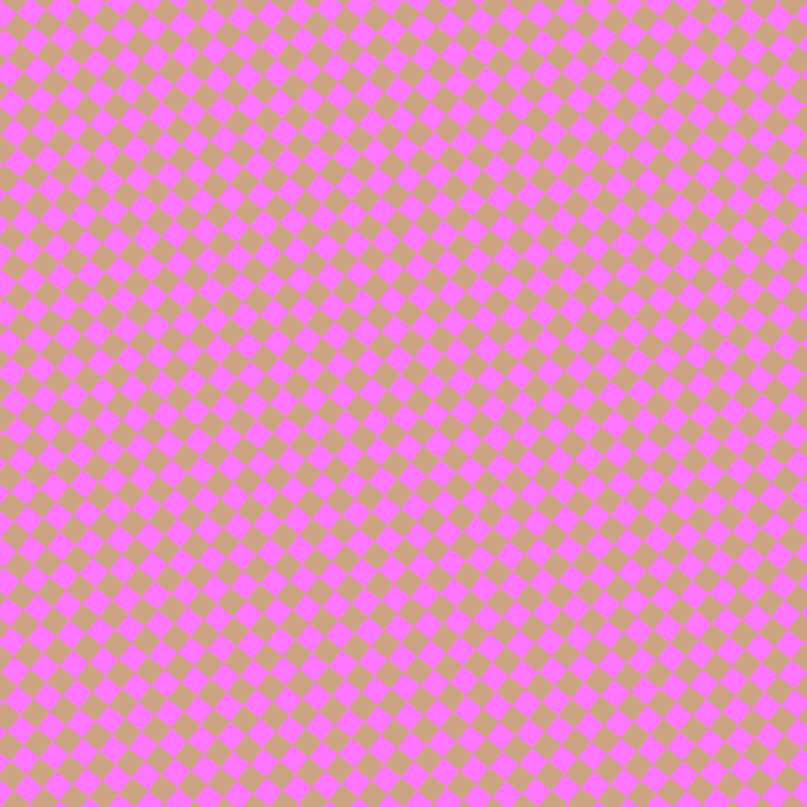 51/141 degree angle diagonal checkered chequered squares checker pattern checkers background, 19 pixel square size, , Fuchsia Pink and Cameo checkers chequered checkered squares seamless tileable