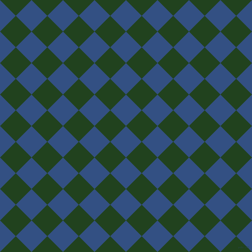 45/135 degree angle diagonal checkered chequered squares checker pattern checkers background, 72 pixel square size, , Fun Blue and Myrtle checkers chequered checkered squares seamless tileable