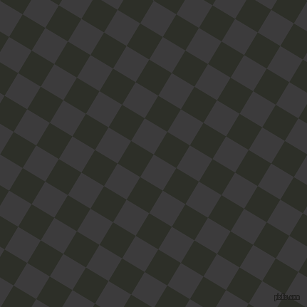 59/149 degree angle diagonal checkered chequered squares checker pattern checkers background, 37 pixel square size, , Fuscous Grey and Eternity checkers chequered checkered squares seamless tileable