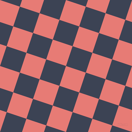 72/162 degree angle diagonal checkered chequered squares checker pattern checkers background, 70 pixel square size, , Geraldine and Blue Zodiac checkers chequered checkered squares seamless tileable