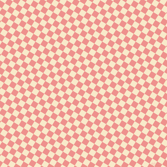 59/149 degree angle diagonal checkered chequered squares checker pattern checkers background, 20 pixel square size, , Gin Fizz and Sweet Pink checkers chequered checkered squares seamless tileable