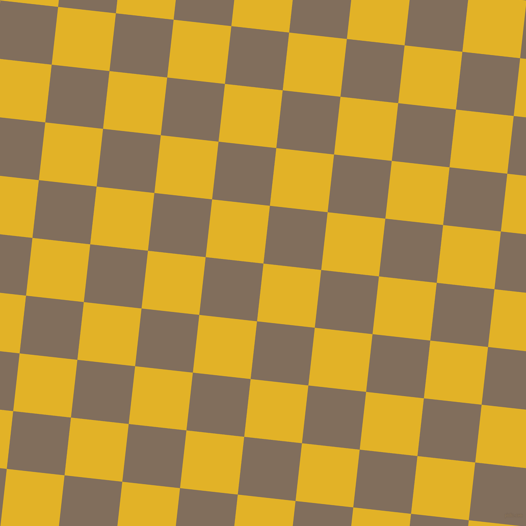 84/174 degree angle diagonal checkered chequered squares checker pattern checkers background, 114 pixel squares size, , Gold Tips and Donkey Brown checkers chequered checkered squares seamless tileable