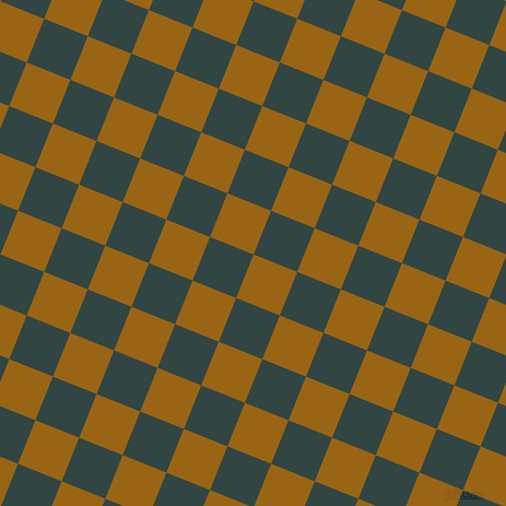 68/158 degree angle diagonal checkered chequered squares checker pattern checkers background, 43 pixel square size, , Golden Brown and Firefly checkers chequered checkered squares seamless tileable