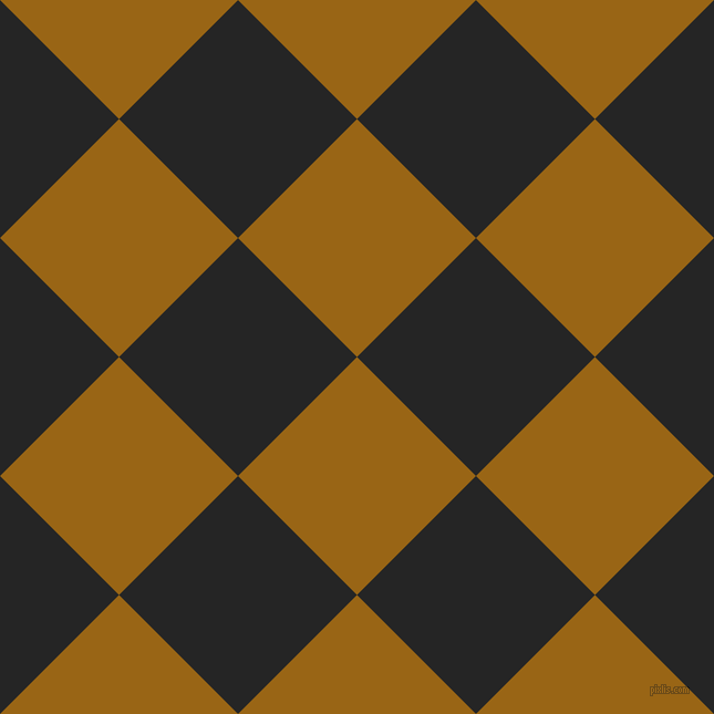 45/135 degree angle diagonal checkered chequered squares checker pattern checkers background, 152 pixel squares size, , Golden Brown and Nero checkers chequered checkered squares seamless tileable