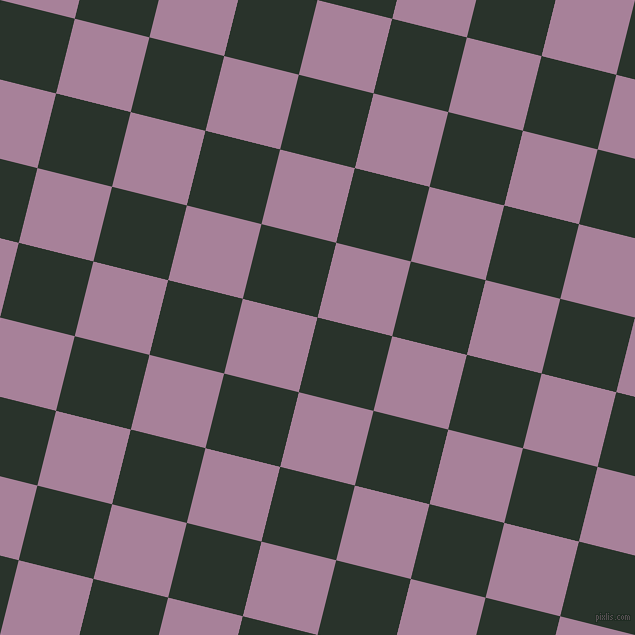 76/166 degree angle diagonal checkered chequered squares checker pattern checkers background, 77 pixel square size, , Gordons Green and Bouquet checkers chequered checkered squares seamless tileable