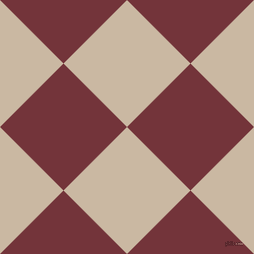 45/135 degree angle diagonal checkered chequered squares checker pattern checkers background, 181 pixel square size, , Grain Brown and Merlot checkers chequered checkered squares seamless tileable