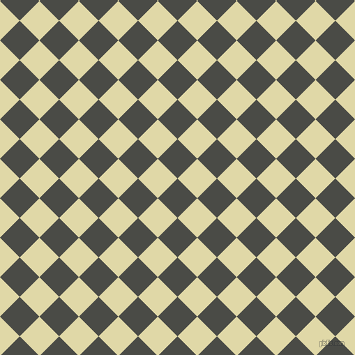 45/135 degree angle diagonal checkered chequered squares checker pattern checkers background, 40 pixel square size, , Gravel and Mint Julep checkers chequered checkered squares seamless tileable