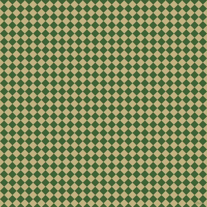 45/135 degree angle diagonal checkered chequered squares checker pattern checkers background, 20 pixel squares size, , Green House and Ecru checkers chequered checkered squares seamless tileable