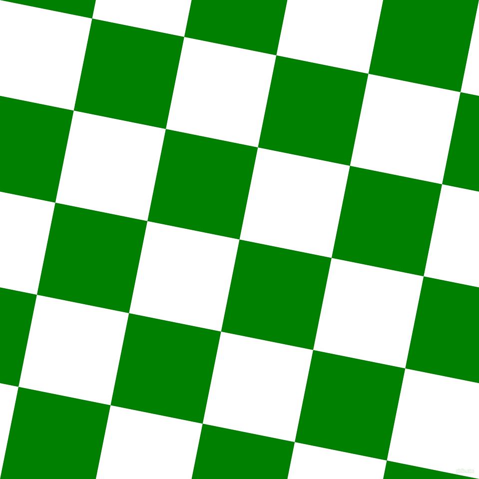 green white