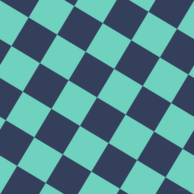59/149 degree angle diagonal checkered chequered squares checker pattern checkers background, 117 pixel squares size, , Gulf Blue and Downy checkers chequered checkered squares seamless tileable