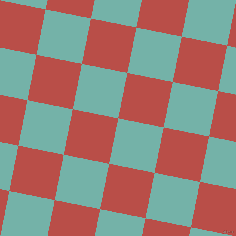 79/169 degree angle diagonal checkered chequered squares checker pattern checkers background, 154 pixel squares size, , Gulf Stream and Chestnut checkers chequered checkered squares seamless tileable